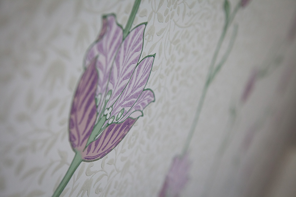Detail of wallpaper